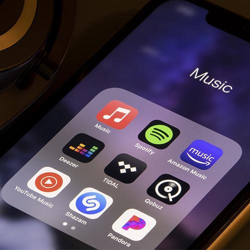 Musikstreaming Apps