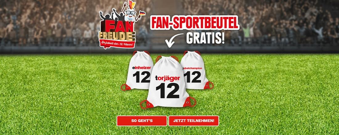Fan-Sportbeutel