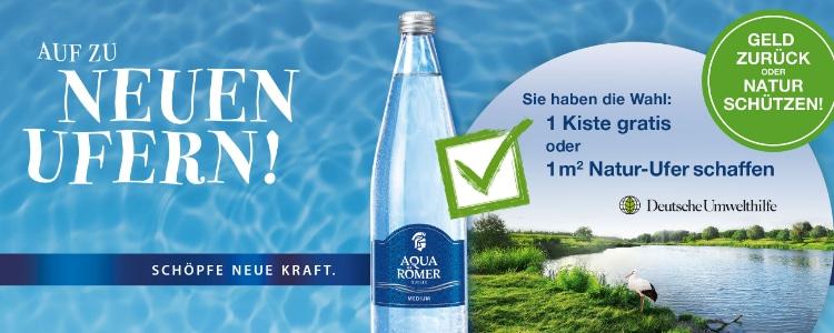 Aqua Römer Quelle gratis testen