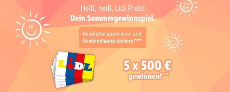 Lidl Sommer-Gewinnspiel