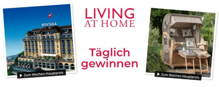 Living at Home-Gewinnspiel