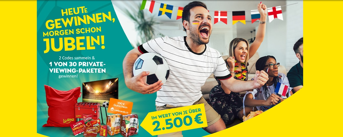 Crunchips Gewinnspiel, TV und Snacks gewinnen