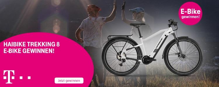 E-Bike bei der Telekom gewinnen