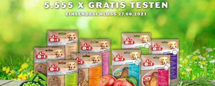 8in1 Hundeleckerli gratis testen
