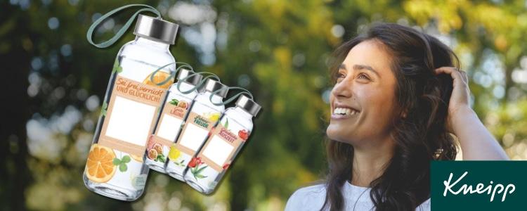Gratis Wasserflasche von Kneipp