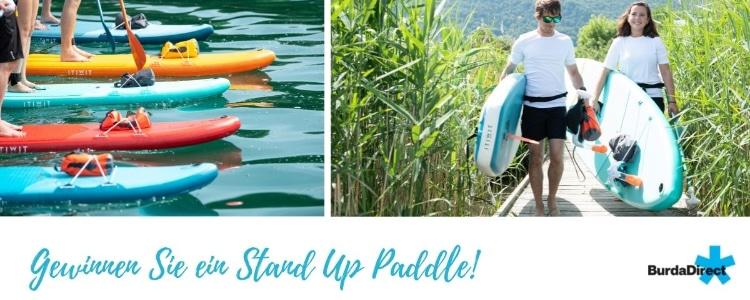 Stand-Up-Paddle gewinnen