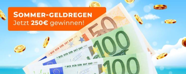 250€ Bargeld gewinnen