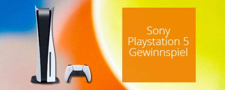 Sony PS5 bei Homeplaza gewinnen