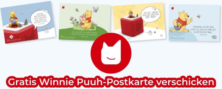 Winnie Puuh-Postkarte verschicken