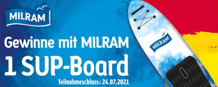 Stand Up Paddle gewinnen mit Milram