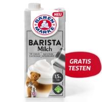 Barista Milch von Bärenmarke