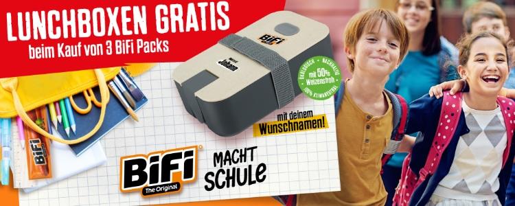 BiFi Lunchbox gratis