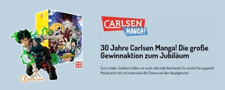 Carlsen Manga Gewinnspiel