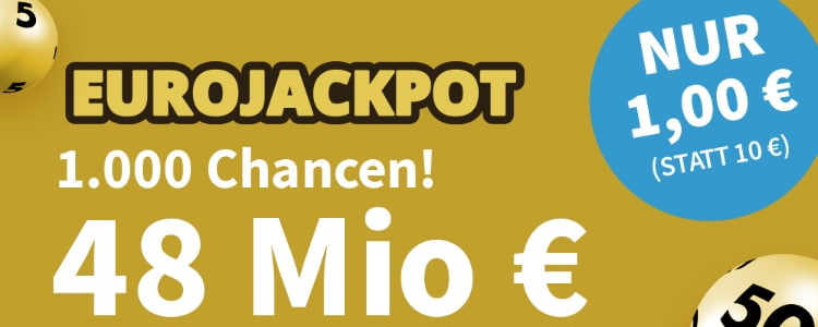 EuroJackpot 48 Mio €
