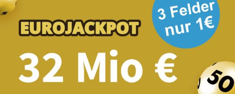32 Mio € im EuroJackpot