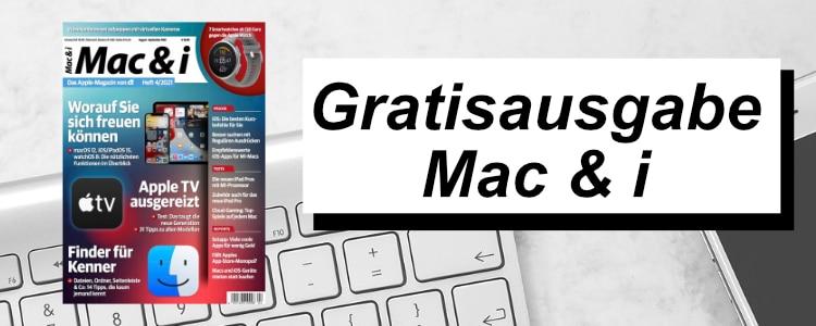 Mac & i gratis lesen