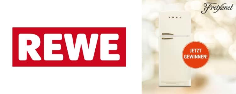REWE Smeg-Kühlschrank gewinnen