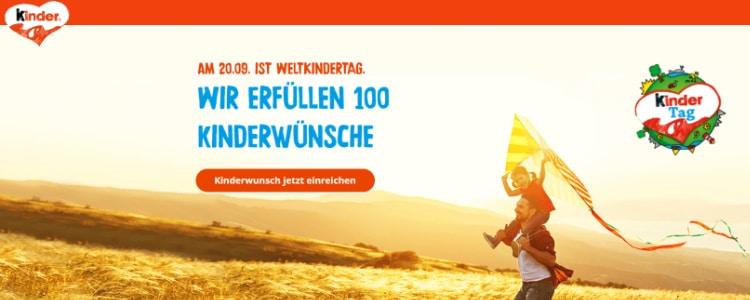 100 Kinderwünsche Ferrero