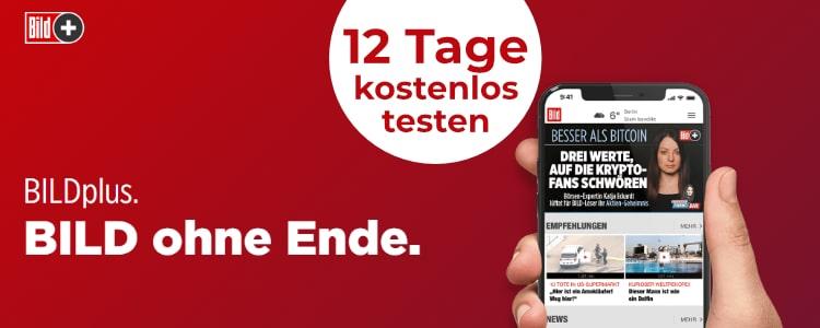 BILD Zeitung 12 Tage kostenlos