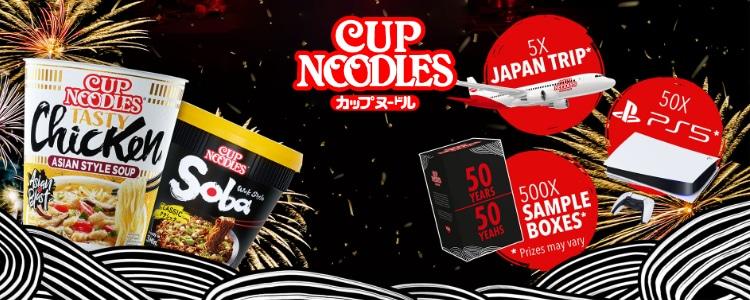Cup Noodles Gewinnspiel
