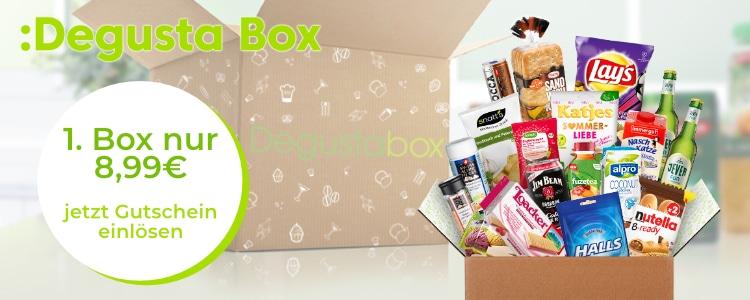 Degusta Box für 8,99€