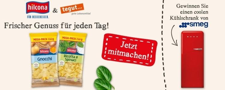 tegut... Gewinnspiel SMEG Kühlschrank