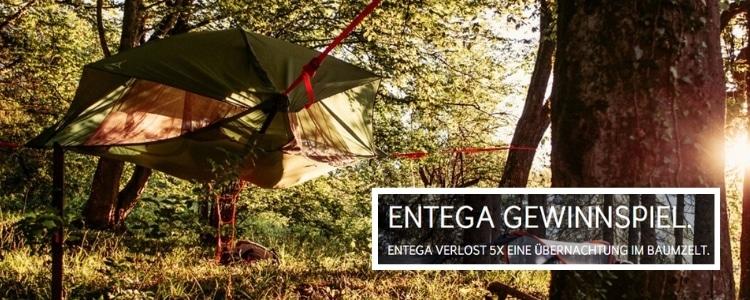 Entega Baumzelt Gewinnspiel
