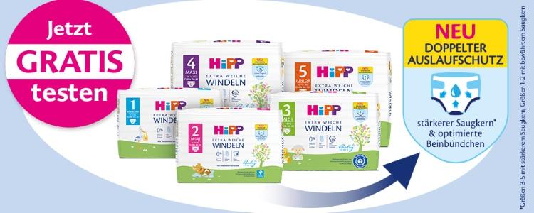 HiPP Windeln gratis testen