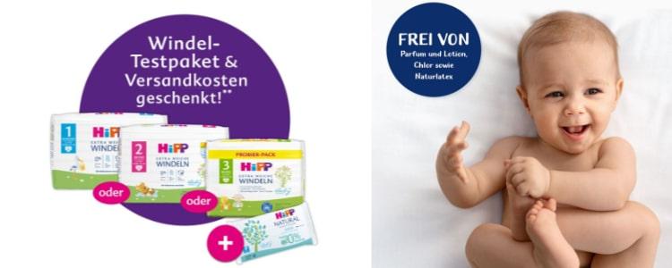 HiPP Windelpaket gratis