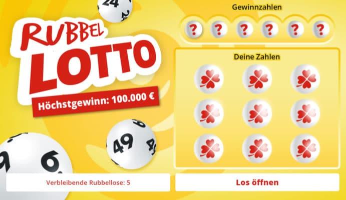 Rubbellos Rubbel Lotto
