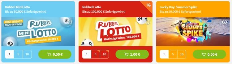 Lottohelden Rubbellose