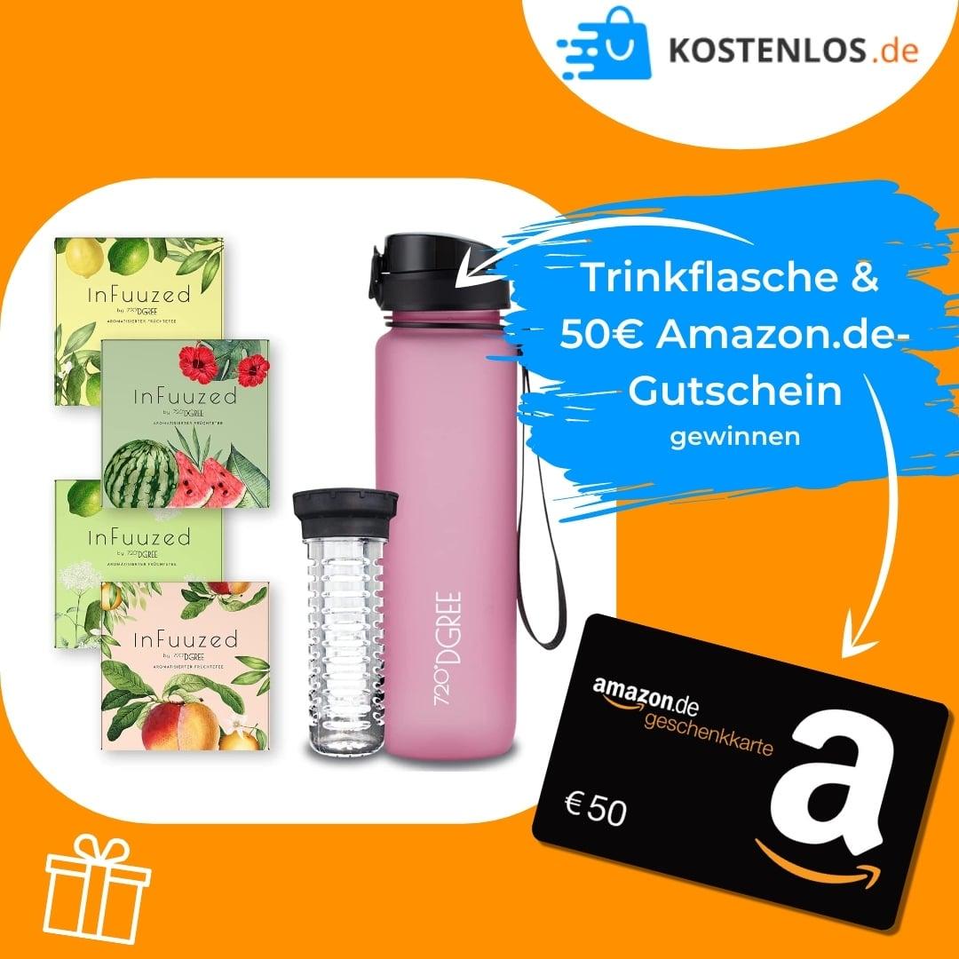 Trinkflasche & 50€ Amazon-Gutschein gewinnen