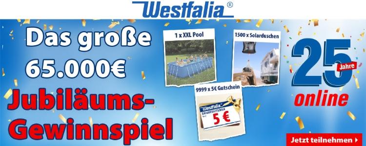 Westfalia Gewinnspiel