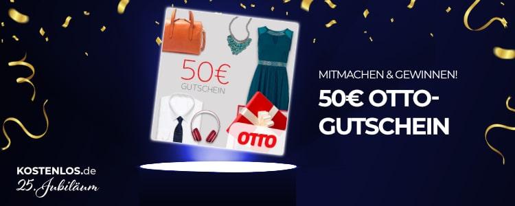 50€ OTTO-Gutschein gewinnen