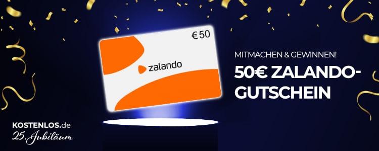 50€ Zalando-Gutschein gewinnen