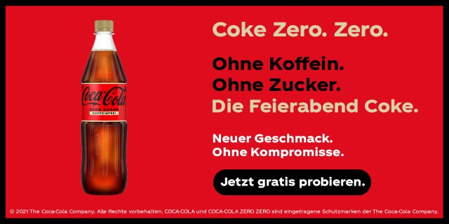 Coke Zero Koffeinfrei