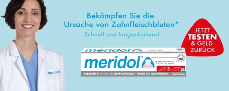 meridol sanftes weiss gratis