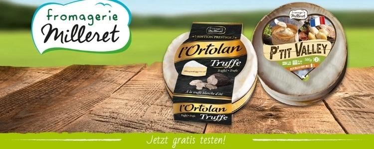 Fromagerie Milleret gratis Käse