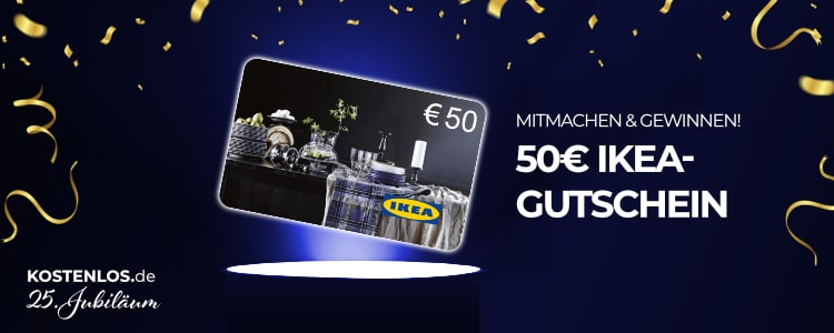 50€ IKEA-Gutschein gewinnen