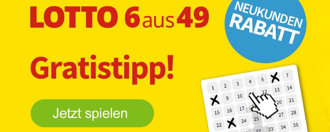 Lotto 6aus49: Gratis Tipp bei Lottohelden