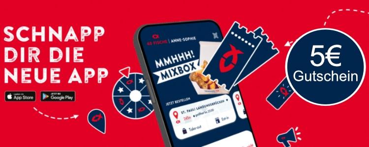 5€ Gutschein in der Nordsee-App